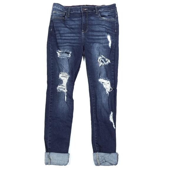 Cello Denim - Cello Ripped Skinny Jeans